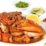 Crab with Garlic and Chili