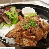Amiyaki Grilled Pork Rice Bowl