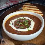Chili Soup with Homemade Cornbread